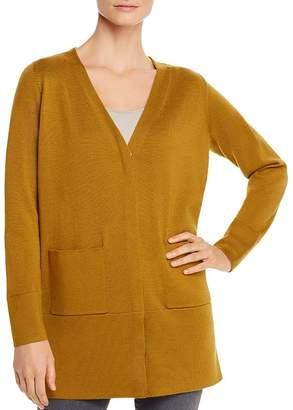 Eileen Fisher Merino Wool V-Neck Cardigan - 100% Exclusive