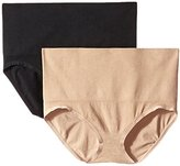 Ellen Tracy Women's Seamless Shape Control Brief Panty