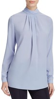 Basler Pleat Detail Blouse