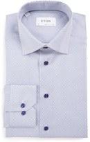Eton Slim Fit Print Dress Shirt
