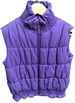 Fendi Purple Synthetic Coats