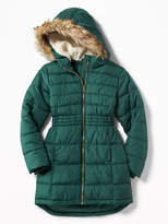 Old Navy Classic Frost Free Long Jacket for Girls