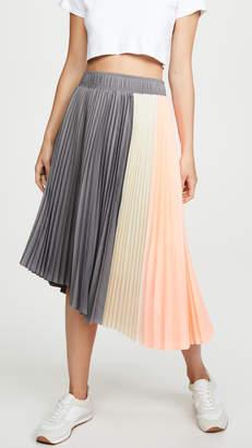 Clu Paneled Pleated Skirt