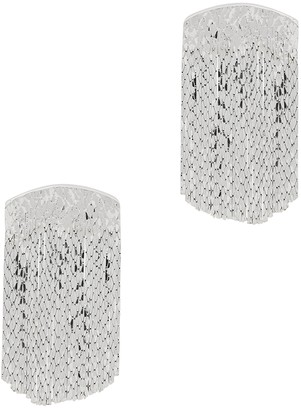 Anissa Kermiche Fil d'Argent fringed silver-plated earrings