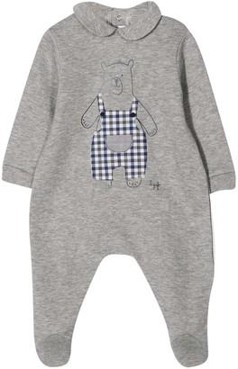 Il Gufo Newborn Gray Onesie Kids