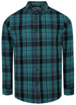George Teal Checked Shirt