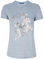 Alexander McQueen beaded skull t-shirt