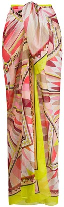 Emilio Pucci Bes-print cover-up