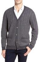 Bugatchi Men's Cable Knit Cardigan