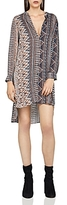 BCBGeneration Printed High/Low Shirt Dress