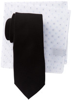Alara Nolita Solid Tie & Pocket Square Box Set