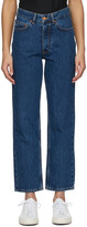 Thumbnail for your product : Won Hundred Navy Pearl Jeans