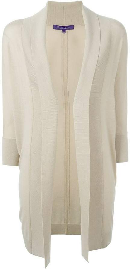Ralph Lauren fold quarter sleeve draped cardigan coat