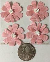 Martha Stewart Pink Dimensional Cosmos Stickers (12pc)martha Stewart•flowers•wedding •pastel•••