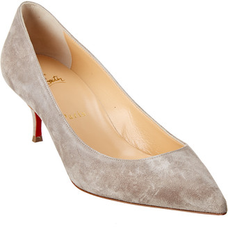Christian Louboutin Kate 55 Suede Pump