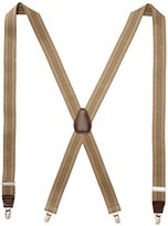 Dockers 1.25 Inch Stripe X-Back Stretch Suspender