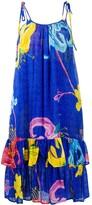 Thumbnail for your product : La DoubleJ Floral Print Strap Dress