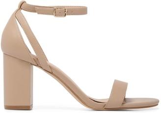 Forever New Jasmine Mid-Block Heels - Taupe - 36