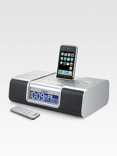 iHome Clock Radio/Audio System for iPhone? & iPod?