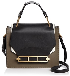 Zac Posen Katie Color-Block Shoulder Bag