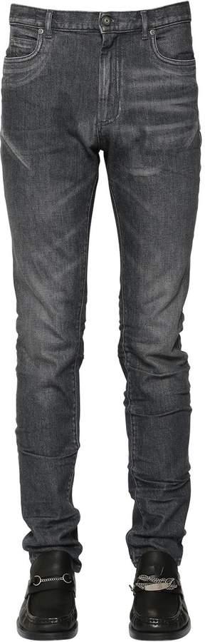Maison Margiela 17cm Stretch Cotton Denim Jeans