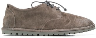 Marsèll x Andreas Murkudis suede lace-up shoes