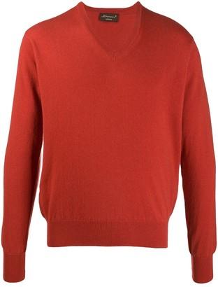 Doriani Cashmere V-neck cashmere jumper