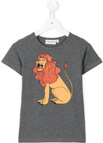 Mini Rodini Lion T-shirt - kids - Organic Cotton/Spandex/Elastane - 9 yrs