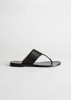 And other stories T-Bar Strap Leather Sandals