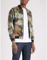 Billionaire Boys Club Space Camo reversible printed cotton-twill bomber jacket