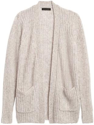 Banana Republic Merino-Blend Long Cardigan Sweater