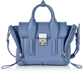 3.1 Phillip Lim Pashli Periwinkle Leather Mini Satchel Bag