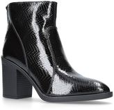 KG by Kurt Geiger Sly Patent Croc-Effect Ankle Boots 85