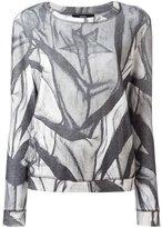 Diesel printed sweatshirt - women - Cotton - M