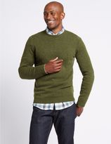 Marks and Spencer Merino Wool Rich Crew Neck Jumper