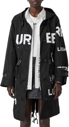 Burberry Polperro Horseferry Print Hooded Jacket