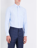 Brioni Slim-fit Cotton-twill Shirt