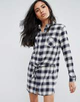 Pepe Jeans Jona Checked Shirt Dress