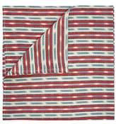 D'Ascoli Set Of Four Samarkand Cotton And Linen Napkins - Red Multi