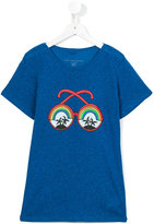 Stella McCartney sunglasses print Carly T-shirt - kids - Linen/Flax/Viscose - 14 yrs