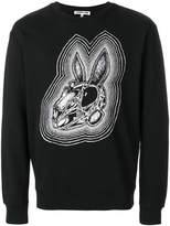 McQ Bunny Be Here Now sweatshirt