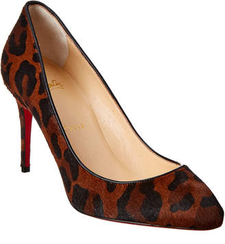 Christian Louboutin Leopard Print Leather Pump