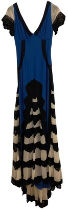 Temperley London Blue Silk Dresses