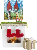 Lundby Smaland Doll's House Christmas Fireplace
