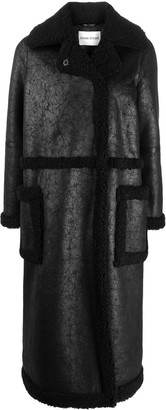 Stand Studio Adriana faux-shearling coat