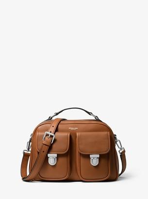 Michael Kors Kennedy Calf Leather Camera Bag
