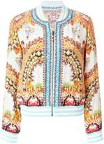 Camilla embroidered bomber jacket