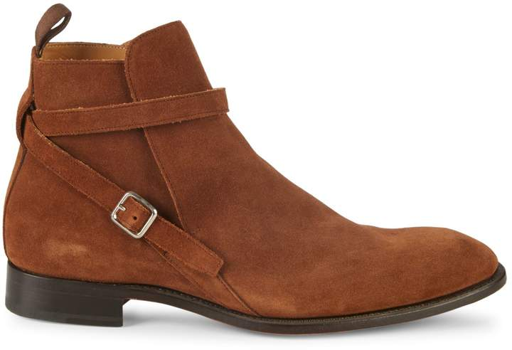 27afe699dcc Buckle Suede Ankle Boots