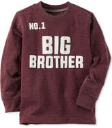 Carter's Graphic-Print Long-Sleeve T-Shirt, Little Boys (4-7) and Big Boys (8-20)