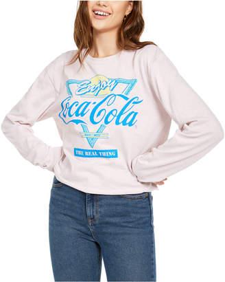 Mad Engine Juniors' Retro Coca-Cola Graphic T-Shirt